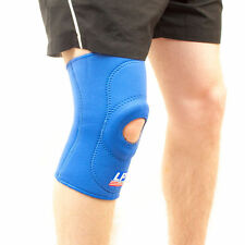 2 X LP 708 Open Knee Support Patella Brace Pain Wrap Sleeve Protector-Twin Pack