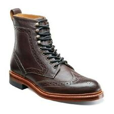 New Stacy Adams Madison II Ox Blood ankle boot lace up casual wing tip 00064
