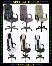 New Swivel Office Furniture Computer Desk Office Chair in PU Leather Chair-8745