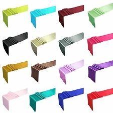 "12"" x 108"" Satin Table Runner Wedding Party Decorations"