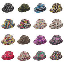 New Toddler Kids Boys Girls Fedora Trilby Panama Jazz Hat Photography Cap Sunhat