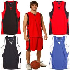 MENS BASKETBALL GYM SLAMDUNK ADULT SINGLET SINGLETS MEN'S TRAINING RUNNING CHEAP