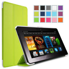 """MoKo Kindle Fire HDX 7"""" Inch Ultra Slim Stand Cover Case - Auto Sleep -7 Colors"""