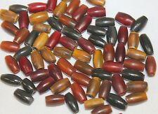 """Hand Crafted Horn Beads - 0.50"""" Horn Tube - Pipe - 72 Pieces per Pack"""