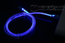 For Apple iPhone lightning USB Data Sync Flowing LED Light Visible Charger Cable