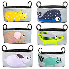HOT Animal Baby Stroller bag Pram Pushchair Hanging Storage Bag Multi Function