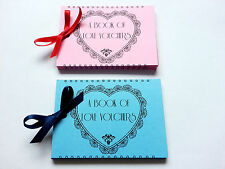 ROMANTIC PRESENT 23 LOVE VOUCHERS Coupons Gift For Him and Her Stocking Filler