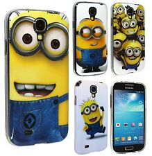 Lovely Minion TPU Gel Skin Back Case Cover For Samsung Galaxy S4 i9500 i9505