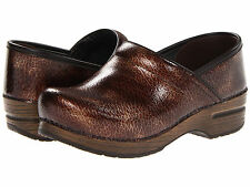 Women's Dansko Professional Brown Textured Clogs Casual Shoes 506067878 Size 37