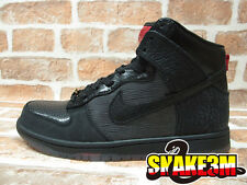 DS NIKE DUNK HI PREMIUM QS MIGHTY CROWN 20TH BLACK RED DJ AM 503766-001