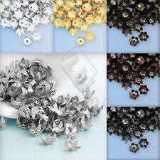 10g abt.122-174pcs Iron Cone/Flower Bead Caps Charms Findings Wholesale 3.5mm