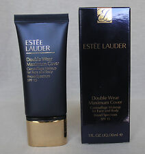 ESTEE LAUDER DOUBLE WEAR MAXIMUM COVER CAMOUFLAGE MAKEUP 30 ML ALL COLORS