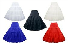 New 6 Colors Organza Hoopless Prom Bridal Slip Short Petticoat Underskirt Dress