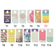 Limited Sale Cartoon Pattern Hard Phone Cover Case for Samsung GALAXY Note 4