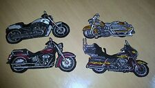 Chopper motorcycle Racing Biker Patch Sew Iron on Jacket T-shirt Suit