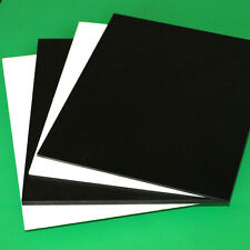 "6MM 1/4"" SINTRA PVC FOAM BOARD PLASTIC SHEETS YOU PICK SIZE AND COLOR"