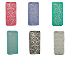 Newest Demask Pattern Matte Hard Back Skin Case Cover For Apple iPhone 6/6 plus