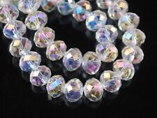 New White clear AB Swarovski Crystal Loose Bead 4x6-6x8mm 69-99 pcs