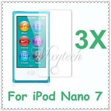 9/6/3x Ultra Clear Screen Guard Protector Shield Film For Apple iPod Nano 7 7th