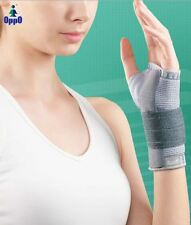 2 X OPPO 2980 Accutex Wrist Thumb Support reinforcing wrist stability-Twin Pack