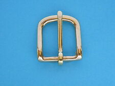 "25mm 1"" West End Buckle Solid Brass Belt Strap Collar Handbag Buckles Horse"