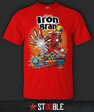 Iron Bran T-Shirt - New - Direct from Manufacturer