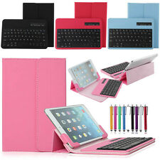 Universal Bluetooth Keyboard Case Cover For LG G Pad 7.0 inch Tablet V400 V410
