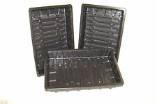 2 TO 20  HEAVYWEIGHT F/ SIZE SEED TRAYS NO HOLES- SEEDS-PROPAGATION-GRAVEL TRAYS