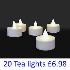 LED Tea Lights Flickering Candle Battery