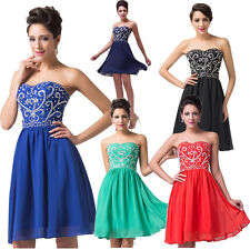 XMAS ON SALE~ Sleeveless Homecoming Prom Ball Gown Cocktail Short Party Dresses