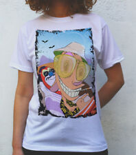Fear and Loathing in Las Vegas T shirt Artwork, Ren and Stimpy version