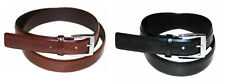 "#8325-ZIG ZAG STITCHED 1.25"" WIDE LEATHER DRESS BELT FOR MEN W/FREE USA SHIPPING"