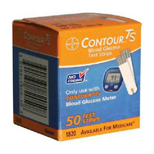Contour TS Blood Glucose Test Strips for Bayer Contour TS Meters - FREE SHIPPING