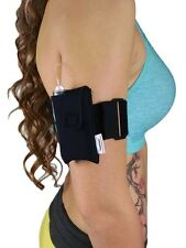 Diabetic Neoprene Insulin Pump Case Pouch by PumpCases w/ Arm Band Belt Strap