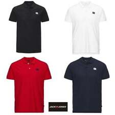 Mens Jack & Jones Authentic Casual Designer Polo Shirt S, M, L, XL, XXL
