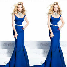 Sexy Womens Backless Bodycon Party Cocktail Prom Formal Bridesmaid Long Dress
