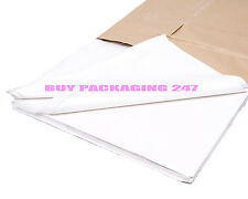 """White Acid Free Tissue Paper Sheets 18 x 28"""" Special Price Ideal for Packing"""