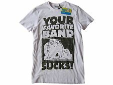 FAMILY GUY - YOUR FAVORITE BAND SUCKS T-SHIRT (NEU/NEW) [PETER, LOIS GRIFFIN..]