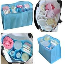 TI US Baby Portable Diaper Nappy Water Bottle Changing Divider Storage Organizer