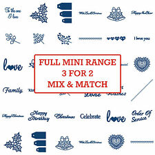 Tattered Lace Small Mini Metal Dies Stephanie Weightman Card Paper Craft 3for2!!