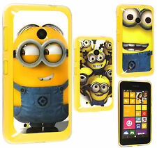 Despicable Me 2 Minion TPU Gel Back Case Cover For Nokia Lumia 530