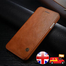 Luxury Genuine PU Leather Flip Case Wallet Cover For Apple Iphone 6 and 6 Plus