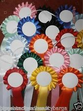 Print your own Rosettes.  Various Colours. 2, 4, 6 or 8. Brand New.