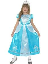 Girls Cinderella Princess Fancy Dress Costume Book Day Kids Outfit S/M