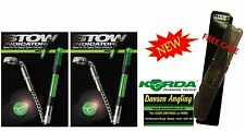 2 x Korda NEW VERSION Stow Indicators Stow Bobbins + Free Case All Colours