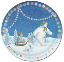 The Snowman and the Snowdog Paper Party Plates 1-48pk