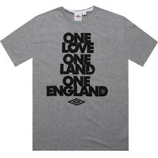 Umbro One England Tee (dark grey marl) 72095U-ZOH
