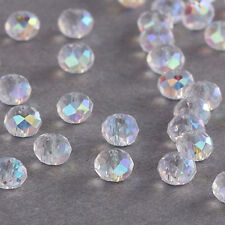 Free shipping 100pcs #5040 Swarovski Crystal 4mm Rondelle Beads U Pick!
