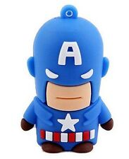 Cartoon Super Hero Warrior Model 8GB USB 2.0 Enough Memory Stick Pen Drive R049