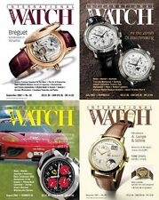 International Wrist Watch Magazine Back Issues